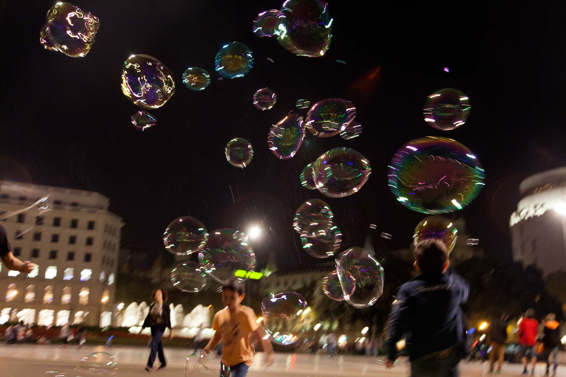 BubblesNightBarcelona