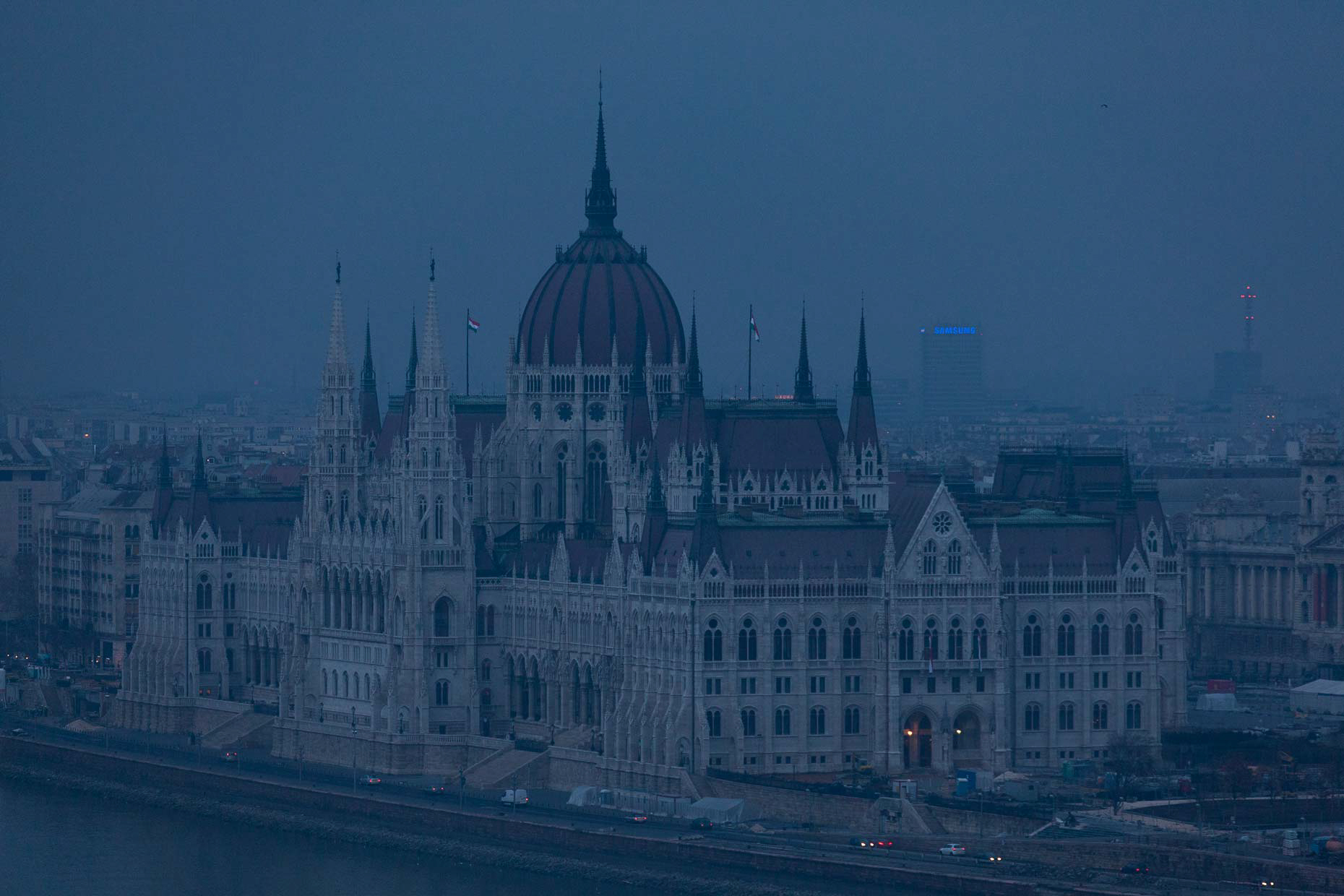 BudapestParliamentatNight